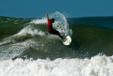 Surfing Brazil