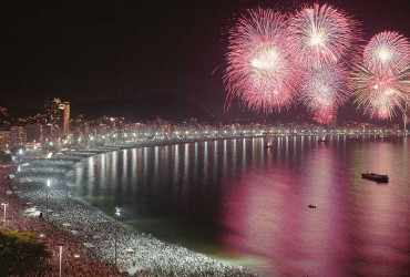 Copacabana New Years Eve, Rio de Janeiro